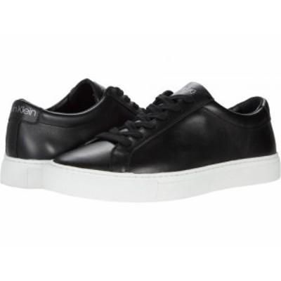 Calvin Klein カルバンクライン メンズ 男性用 シューズ 靴 スニーカー 運動靴 Adrien Black【送料無料】