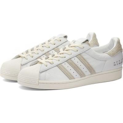 アディダス Adidas メンズ スニーカー シューズ・靴 superstar White/Off White
