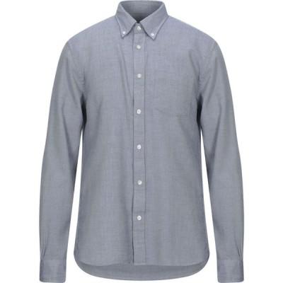ブルックス ブラザーズ RED FLEECE by BROOKS BROTHERS メンズ シャツ トップス Solid Color Shirt Slate blue