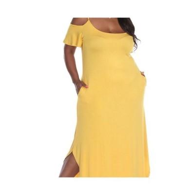 ホワイトマーク レディース ワンピース トップス Plus Size Lexi Maxi Dress