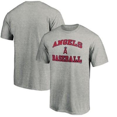 ファナティクス ブランデッド メンズ Tシャツ トップス Los Angeles Angels Fanatics Branded Team Heart & Soul T-Shirt