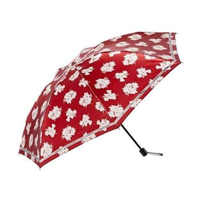 [ムーンバット] MOONBAT(ムーンバット) LANVIN COLLECTION(ランバンコレクション) 折りたたみ傘 雨傘 サテンフラワー 花