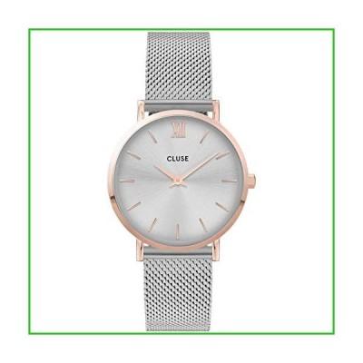 クルースCluse Women's Minuit 33mm Steel Bracelet & Case Quartz Silver-Tone Dial Analog Watch CW0101203004[並行輸入品|送料無料]