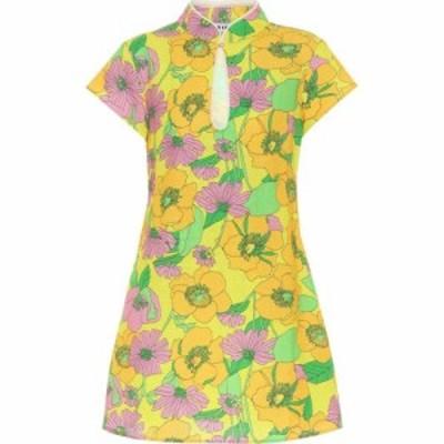 リキソ Rixo レディース ワンピース ワンピース・ドレス Lolita floral cotton minidress 60s Floral
