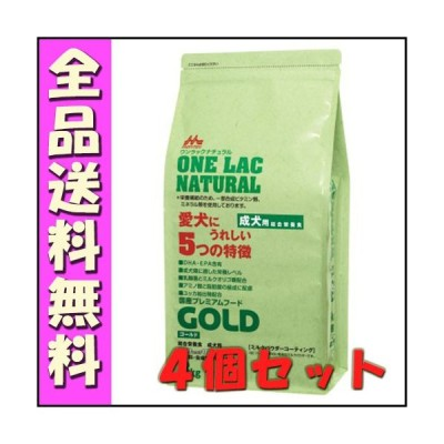 森乳 ワンラックナチュラル ゴールド 3kgx4個セット