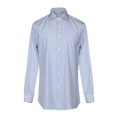 BORSA per PERLIN シャツ ブルー 42 コットン 100% シャツ