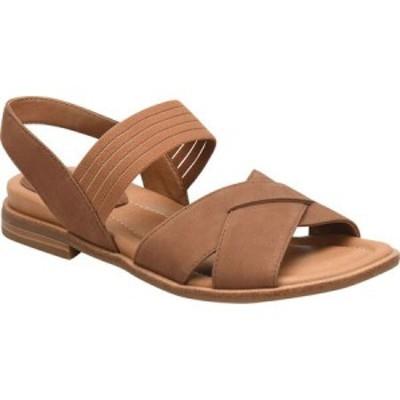 コンフォーティヴァ Comfortiva レディース サンダル・ミュール アンクルストラップ シューズ・靴 Dixie Ankle Strap Sandal Whiskey Nub