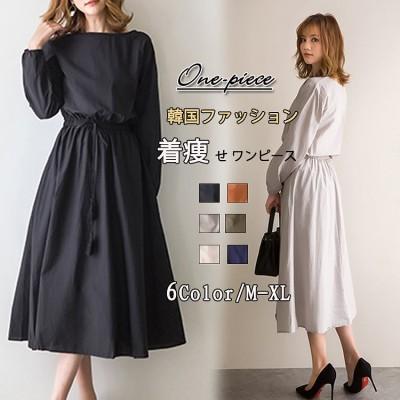 文芸大振子スカート2020は腰のゆったりした大きいサイズの綿麻のワンピースを収めることができます。