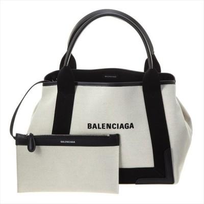 バレンシアガ トートバッグ レディース ブラック、ナチュラル BALENCIAGA  並行輸入品