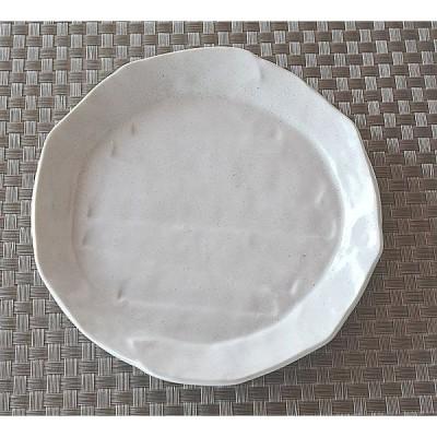 中皿 でこぼこ 白