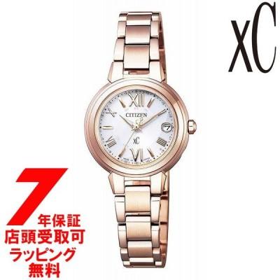 [ノベルティ付き]シチズン CITIZEN xC クロスシー 腕時計 ウォッチ ES9435-51A ウォッチ エコ・ドライブ電波時計 レディース