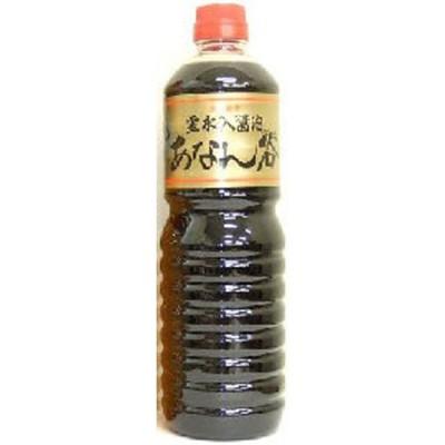 霊水入醤油 あなん谷 甘天(甘口)1L×1本