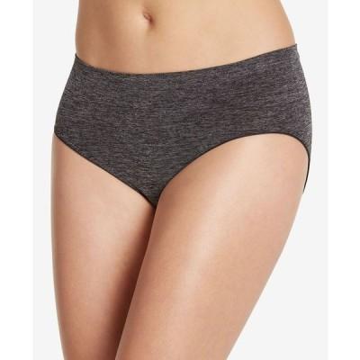 ジョッキー レディース パンツ アンダーウェア Smooth and Shine Seamfree Heathered Hipster Underwear 2187 available in extended sizes