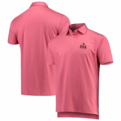 Peter Millar ピーター ミラー スポーツ用品  Peter Millar Red 2019 PGA Championship Solid Stretch Jersey Polo