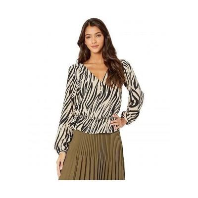 Sanctuary サンクチュアリ レディース 女性用 ファッション ブラウス All Nighter Blouse - Zebra