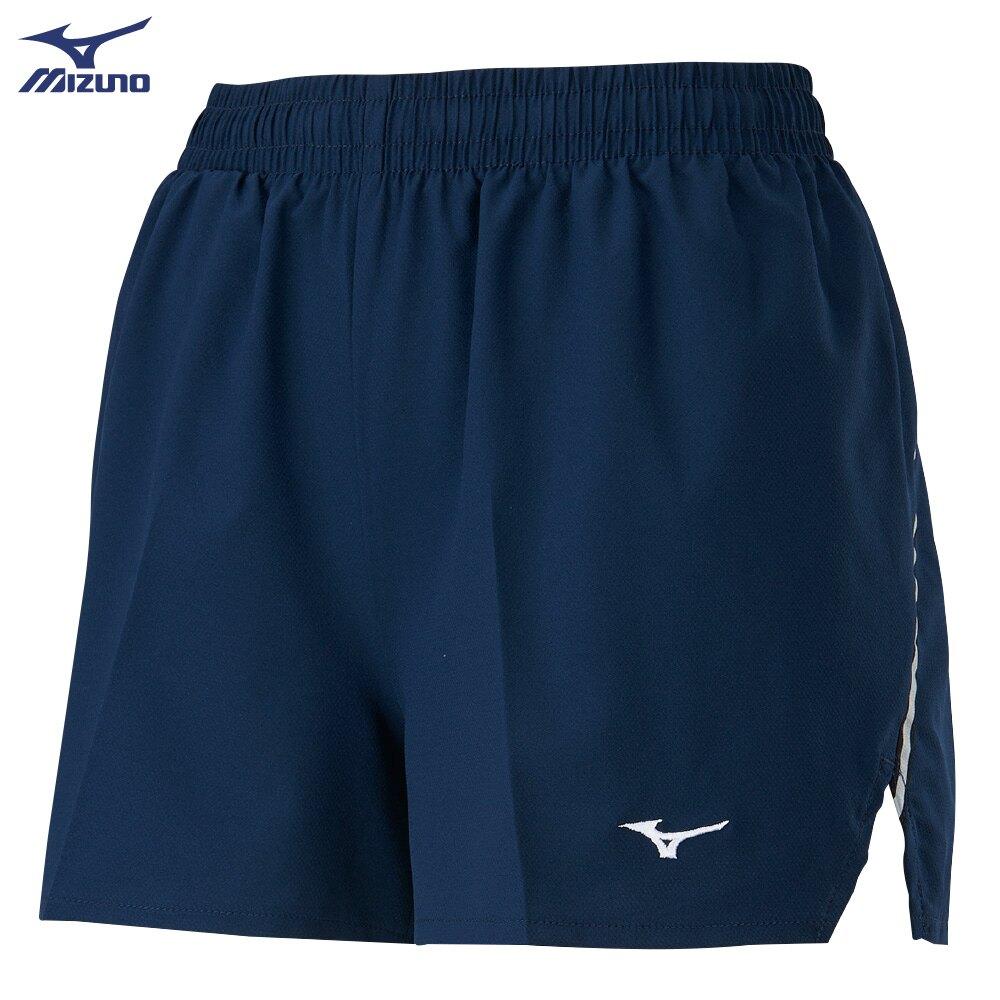 女款路跑短褲 J2TB125313(靛藍)【美津濃MIZUNO】