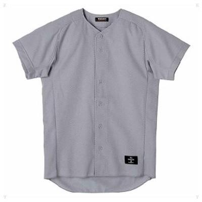 デサント 野球・ソフトボール用ユニフォームシャツ(SLV・サイズ:M) DS-STD31TA-SLV-M返品種別A