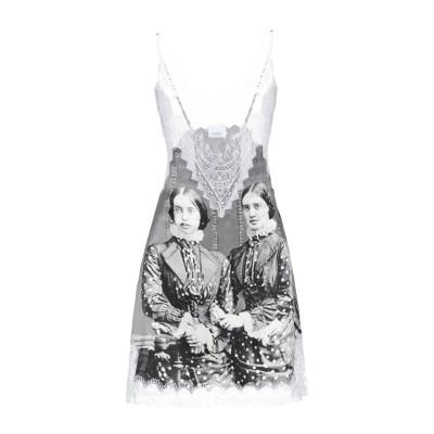 BURBERRY ミニワンピース&ドレス 鉛色 36 シルク / ナイロン / レーヨン / コットン ミニワンピース&ドレス