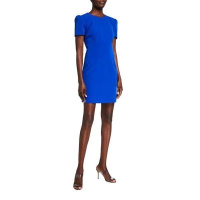 ミリー レディース ワンピース トップス Francesca Ruched Raglan-Sleeve Cady Dress