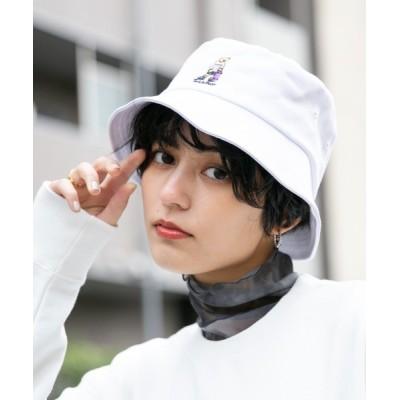RAGEBLUE / <ユニセックスでおすすめ>テディベア刺繍バケットハット/ MEN 帽子 > ハット