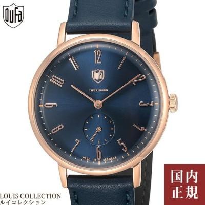 店内全品10%OFF!11/25(水)5のつく日同時開催!ドゥッファ 腕時計 グロピウス 38mm メンズ レディース ドイツ製 DF-9001-0F
