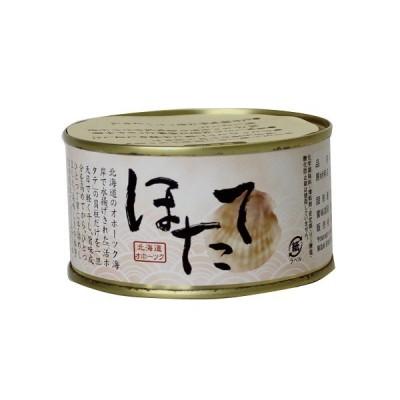 スハラ食品 ほたて貝柱水煮缶詰×1缶(3年保存)