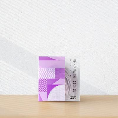 【森林麵食】紫心蕃薯乾麵/道地沙茶醬 (四包入)