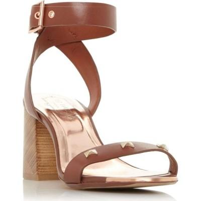 テッドベーカー Ted Baker レディース サンダル・ミュール シューズ・靴 Biah Pyramid Bow Stud Sandals Tan
