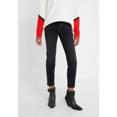 クローズド デニムパンツ レディース ボトムス BAKER - Slim fit jeans - dark grey