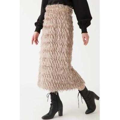 JILLSTUART (ジルスチュアート) レディース エレクトラ カットジャガードスカート BEIGE(040) 4