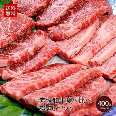 肉 和牛 牛肉 赤城和牛赤うまみ白うまみ食べ比べキット 各100g×4種類それぞれグリル用カット 【冷凍】