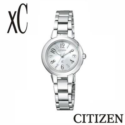 【正規販売店】CITIZEN シチズン XC クロスシー  ミニソル エコ・ドライブ電波時計 ES8030-58A レディース 腕時計