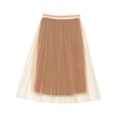 GIORGIA  & JOHNS 7分丈スカート キャメル S ポリエステル 100% 7分丈スカート