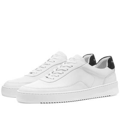 フィリング ピース Filling Pieces メンズ スニーカー シューズ・靴 Mondo 2.0 Ripple Sneaker White/Black