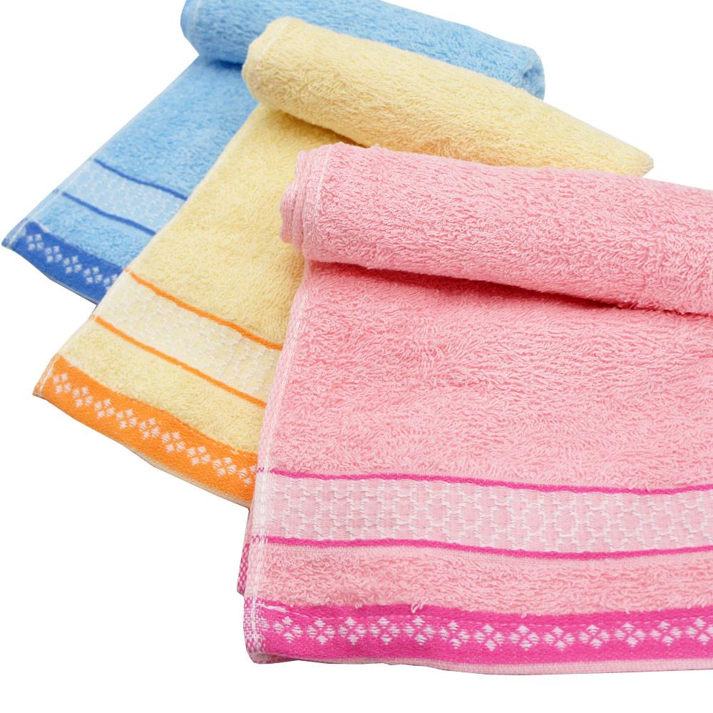 TELITA 日式和風緞條毛巾3入