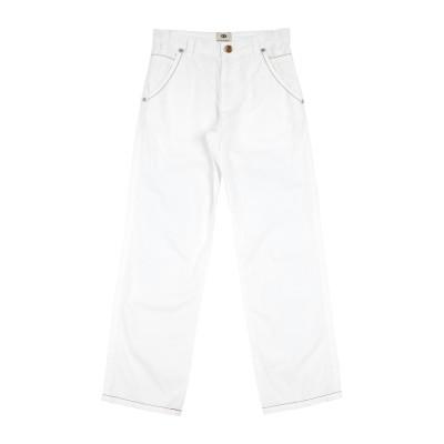HISTORIC RESEARCH パンツ ホワイト 10 コットン 95% / ポリウレタン 5% パンツ