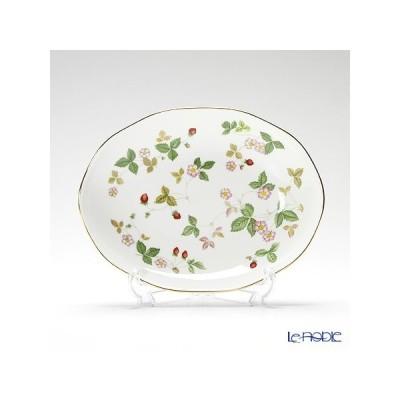 ウェッジウッド(Wedgwood) ワイルドストロベリー オーバルディッシュ 25cm 皿
