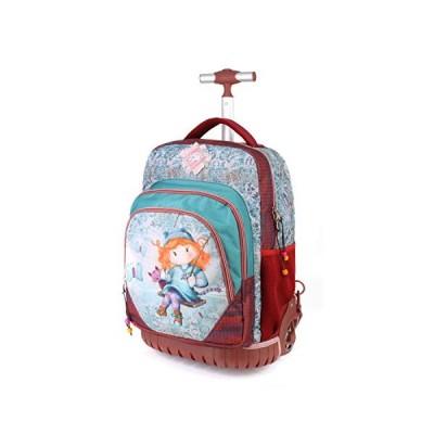 Forever Ninette Forever Ninette Swing-GTS Travel Trolley Backpack Casual Daypack, 47 cm, 39.5 liters;,Multicolour 並行輸入品