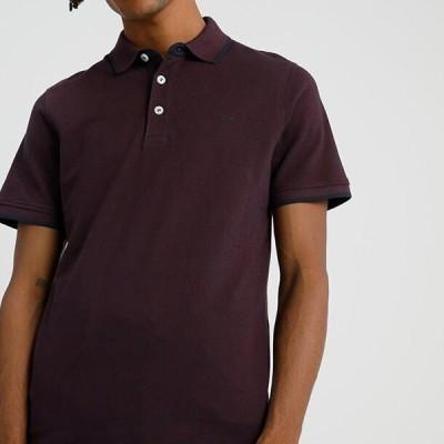 ジャックアンドジョーンズ メンズ ファッション Polo shirt - port royale