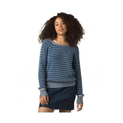 Prana プラナ レディース 女性用 ファッション セーター Gadie Sweater - Admiral Blue