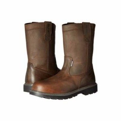 ウルヴァリン ブーツ Floorhand Welly 10 Steel Toe Dark Brown
