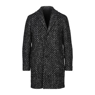 FUTURO コート ブラック 48 アクリル 46% / ウール 34% / モヘヤ 16% / レーヨン 4% コート