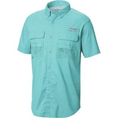 (取寄)コロンビア メンズ ハーフ ムーン ショートスリーブ シャツ Columbia Men's Half Moon SS Shirt Gulf Stream