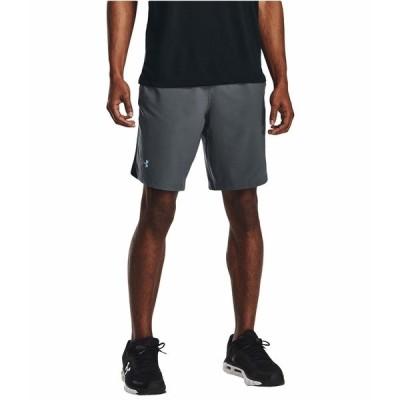 アンダーアーマー ハーフ&ショーツ ボトムス メンズ Launch Stretch Woven 9'' Shorts Pitch Gray/Reflective