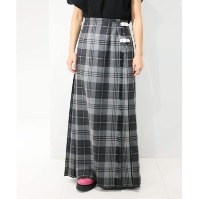レディース シティショップ 【O'NEIL of DUBLIN for CITYSHOP 】Fashion Kilt 1Color skirt:GR07-8 グレーA 8