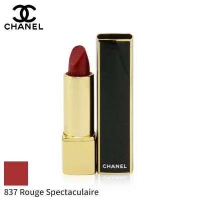 シャネル リップスティック Chanel 口紅 Rouge Allure Luminous Intense Lip Colour #837 Spectaculaire 3.5g