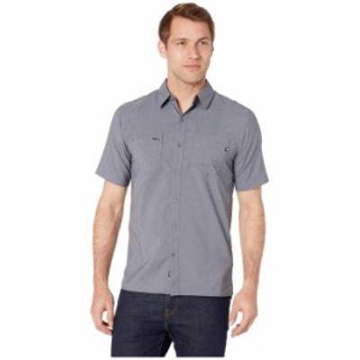 マーモット メンズ シャツ トップス Innesdale Short Sleeve Shirt Steel Onyx