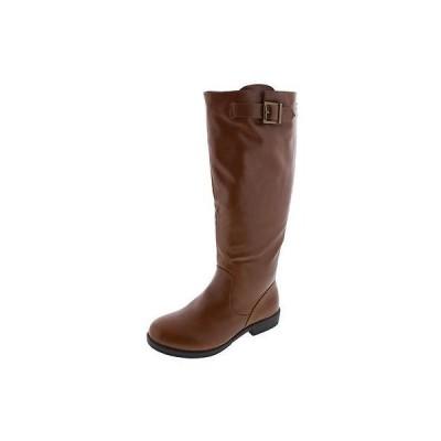 海外セレクション ブーツ シューズ 靴 Journee コレクション 3749 レディース ブラウン ライディング ブーツ シューズ 9 ミディアム (B,M) BHFO