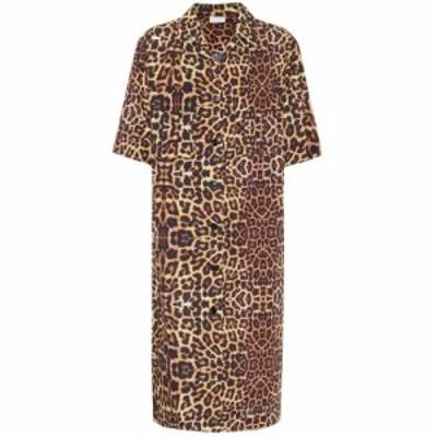 ドリス ヴァン ノッテン Dries Van Noten レディース ワンピース シャツワンピース ワンピース・ドレス Leopard-print cotton shirt dres