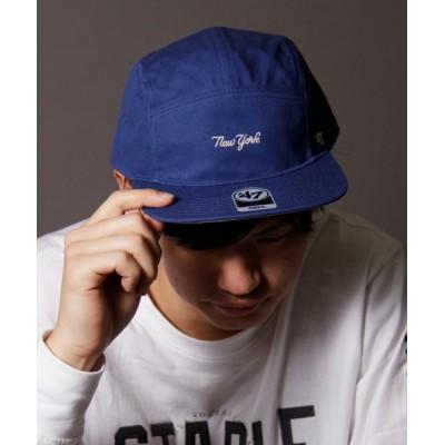 FUNALIVE / 【47 brand】5パネルオフィシャルメジャーリーガーヤンキースロゴベースボールキャップ/ストレートキャップ MEN 帽子 > キャップ